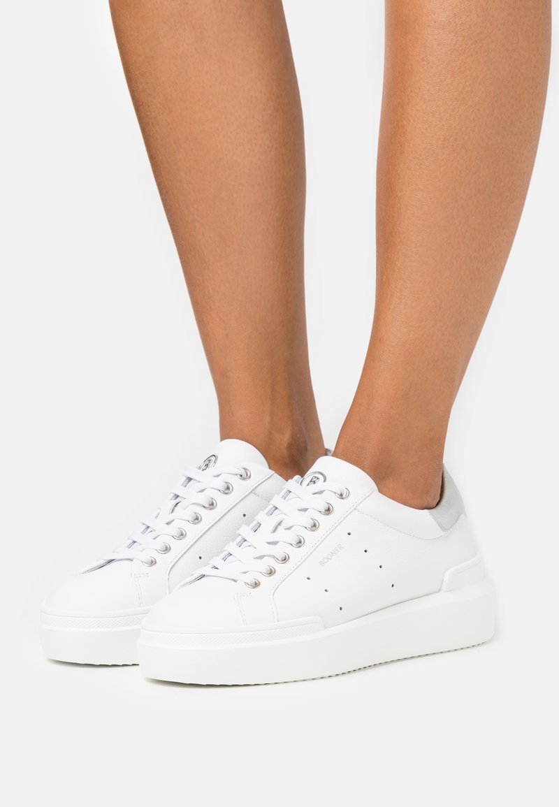 Bogner - HOLLYWOOD  - Trainers - white/silver