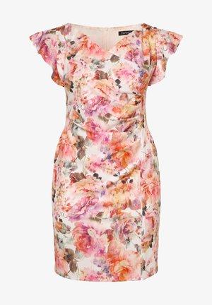 Shift dress - aprikot rosa
