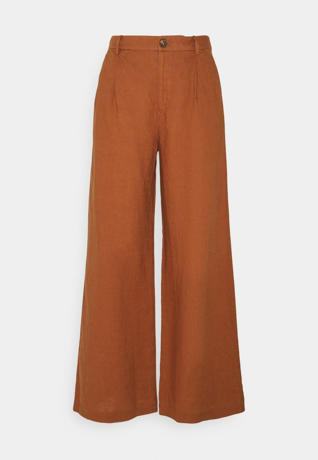 HELMI - Pantalon classique - argan oil