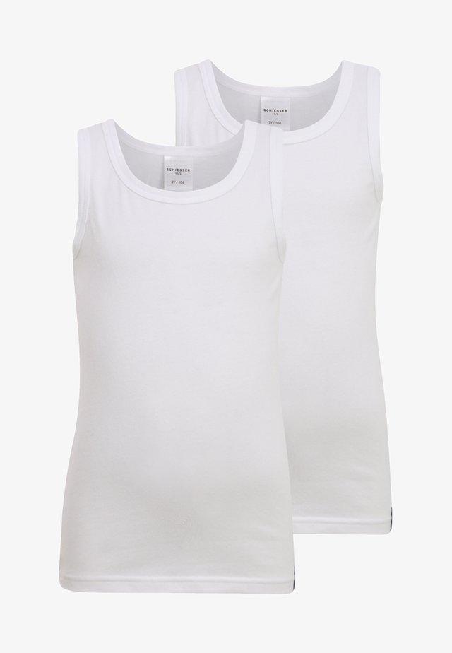 2 PACK - Unterhemd/-shirt - weiß