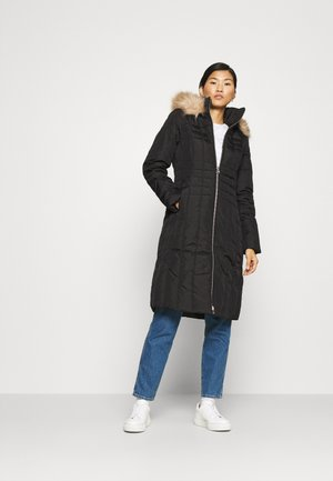 ESSENTIAL COAT - Vinterkåpe / -frakk - black