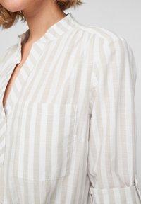 Q/S designed by - Day dress - beige stripes - 4