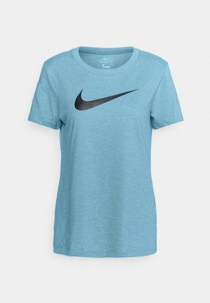 TEE CREW - T-shirts med print - cerulean/light silver
