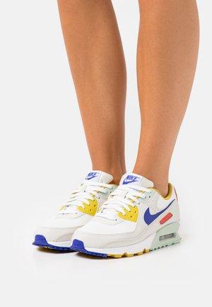 AIR MAX 90 - Sneakers laag - summit white/light bone/pistachio frost/lapis