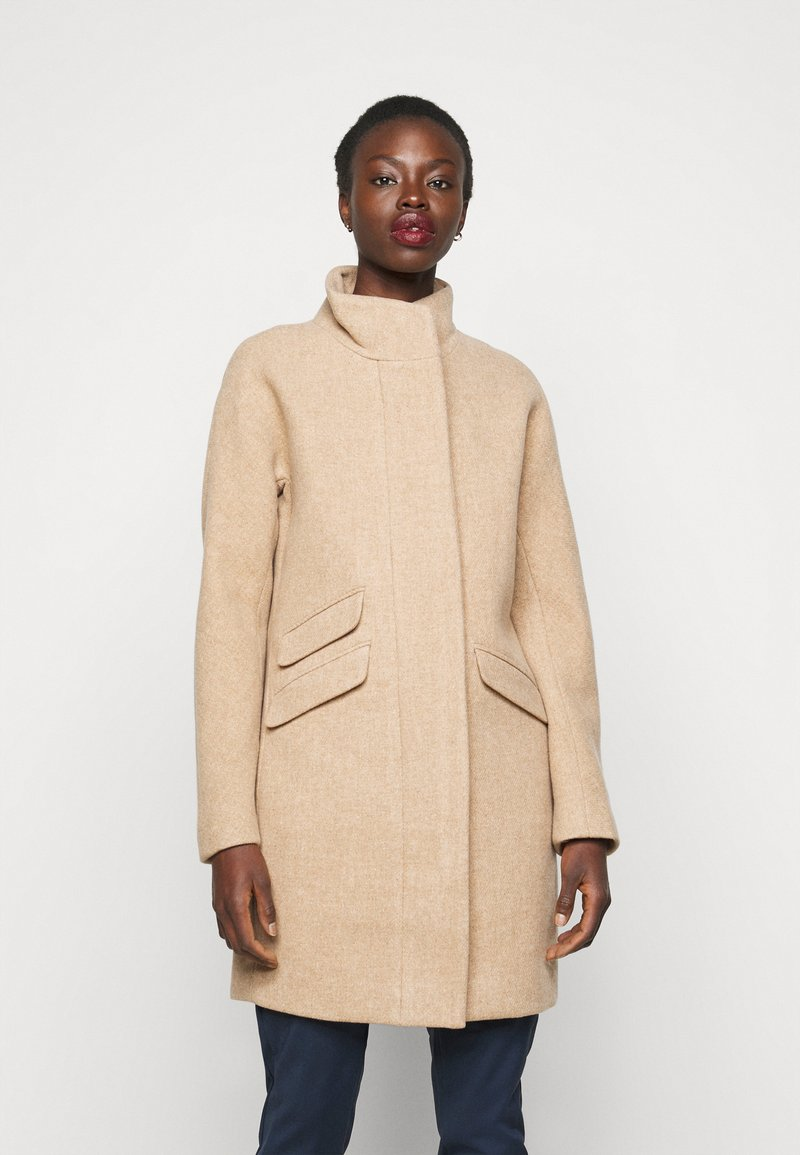 J.CREW TALL - Zimní kabát - sandstone