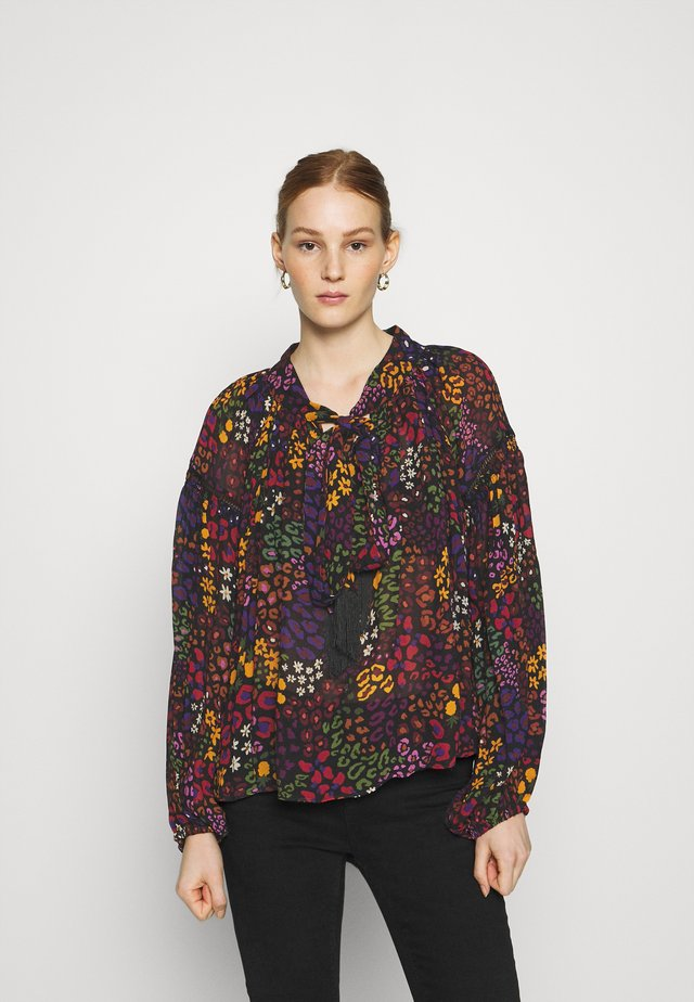 WILD MIX BLOUSE - Longsleeve - multi