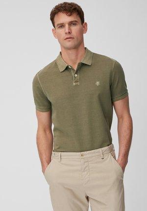 SHORT SLEEVE - Polo shirt - dark green