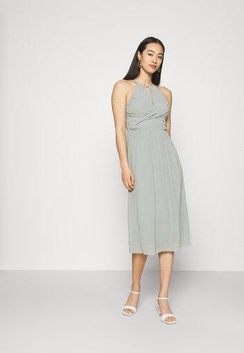 SIDONY MIDI DRESS - Suknia balowa - sage