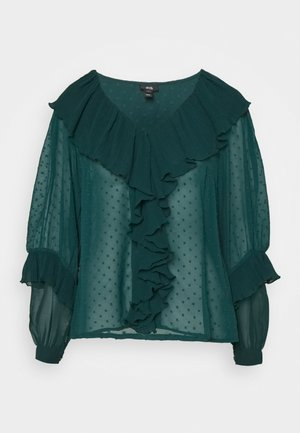 Blouse - green dark