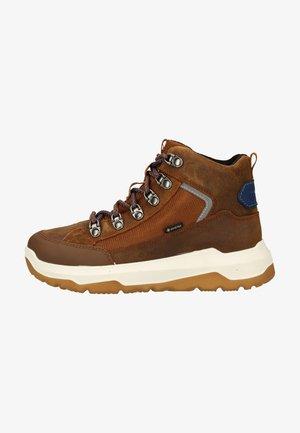 Lace-up boots - braun/blau
