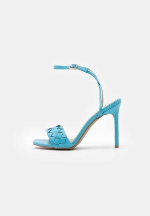 DELLA - Sandales à talons hauts - blue