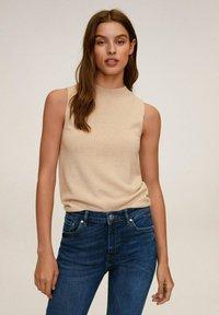 Mango - ISA - Jeans Skinny Fit - donkerblauw - 3