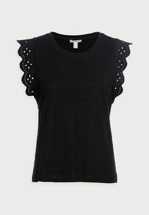 ANGLAIS - Print T-shirt - black