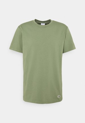 BOX LOGO TEE - T-shirt basic - oil green