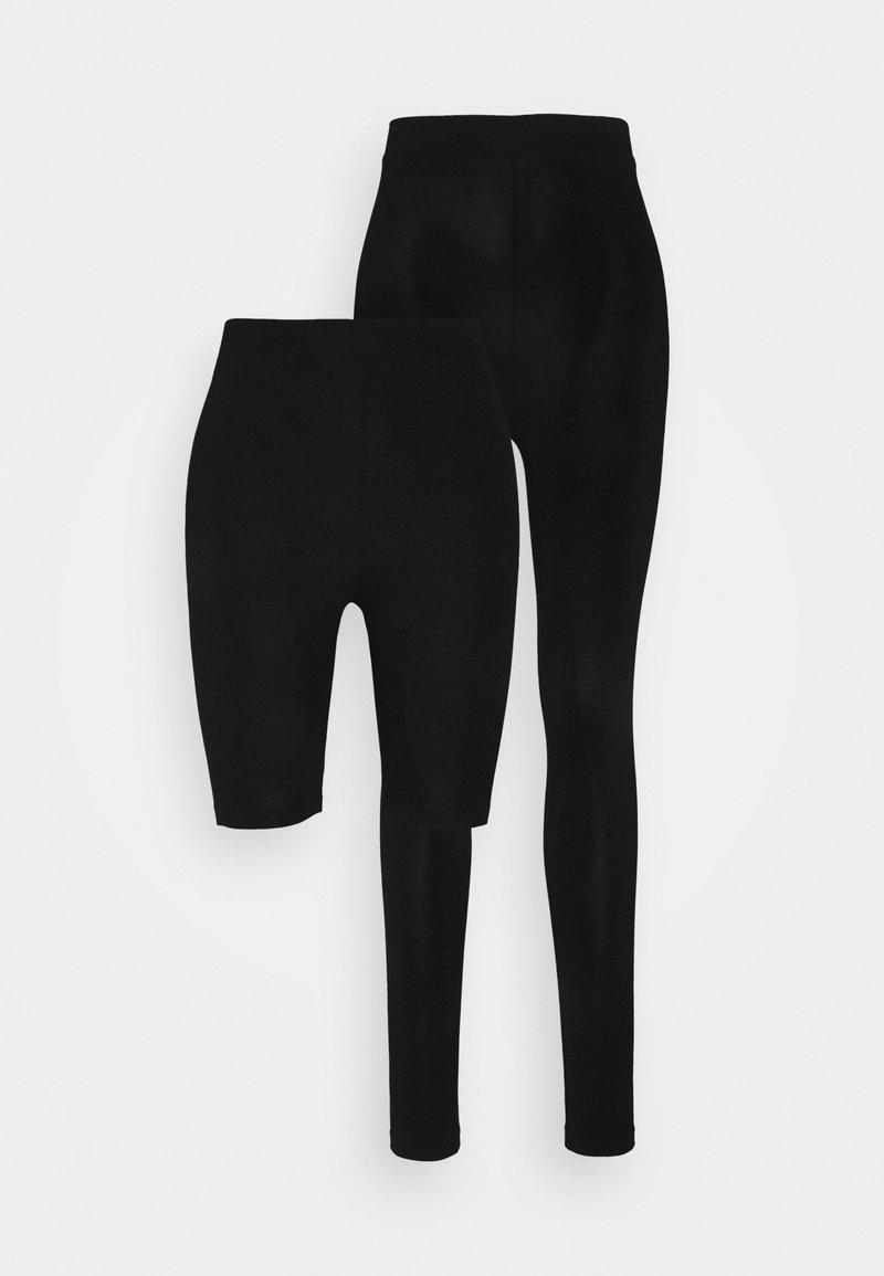 Even&Odd Tall - 2 PACK - Leggings - black