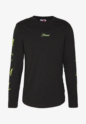 UNISEX LEWIS HAMILTON LONG SLEEVE - Long sleeved top - black