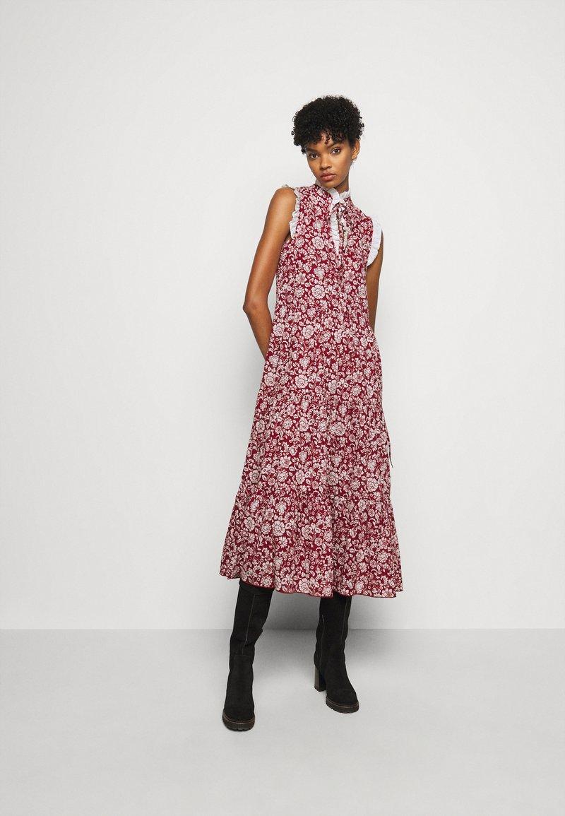 See by Chloé - Denní šaty - red/white