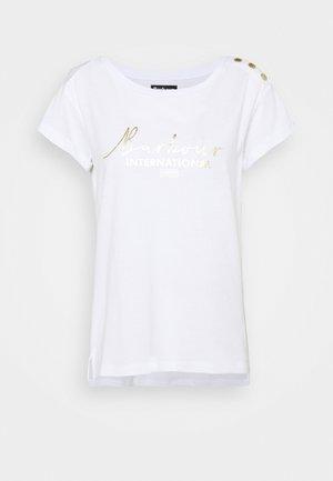 GRID TEE - T-Shirt print - white