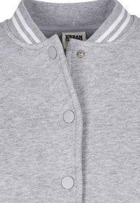 Urban Classics - Zip-up hoodie - grey white - 12