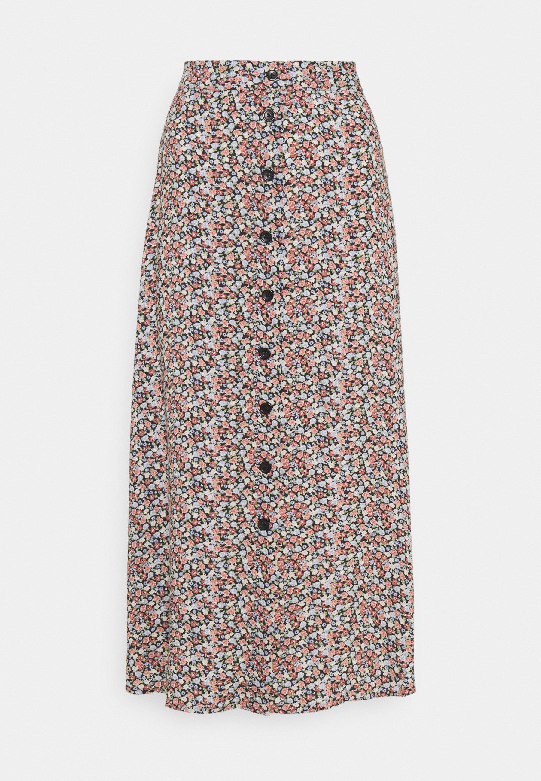 Women BYMMJOELLA MIDI SKIRT - Maxi skirt