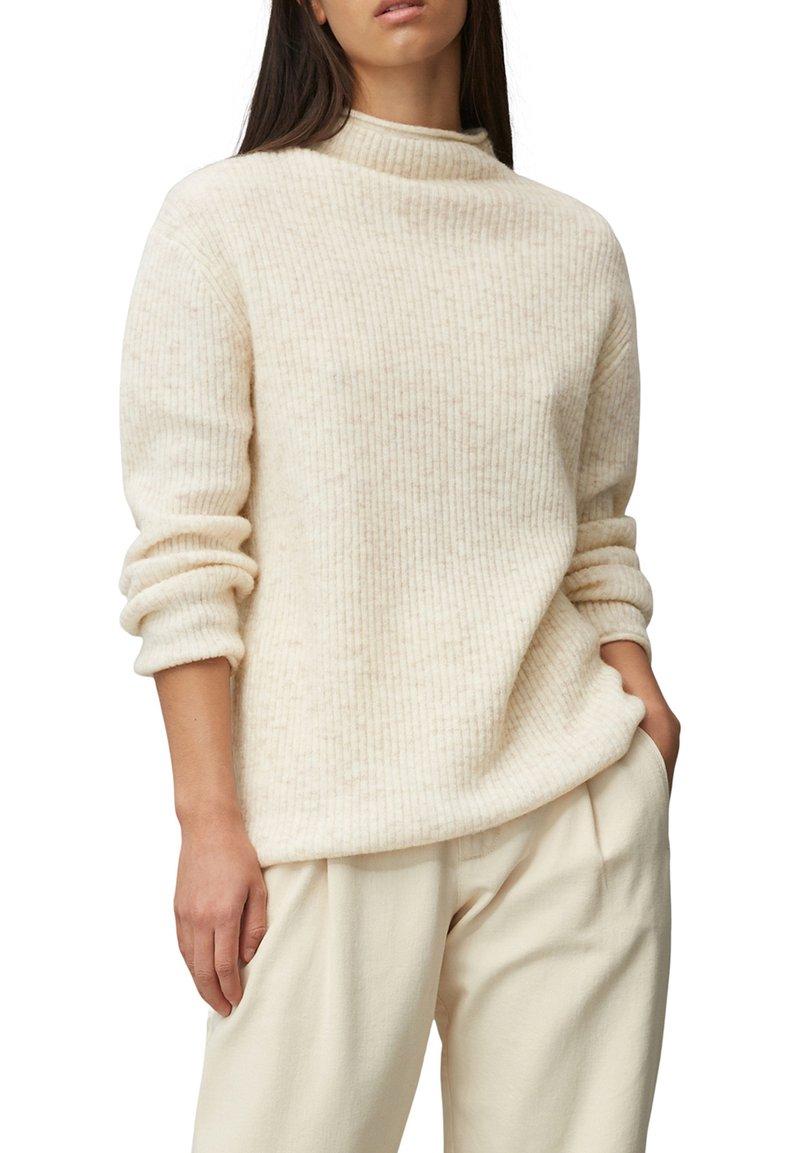 Marc O'Polo DENIM - Pullover - beige melange