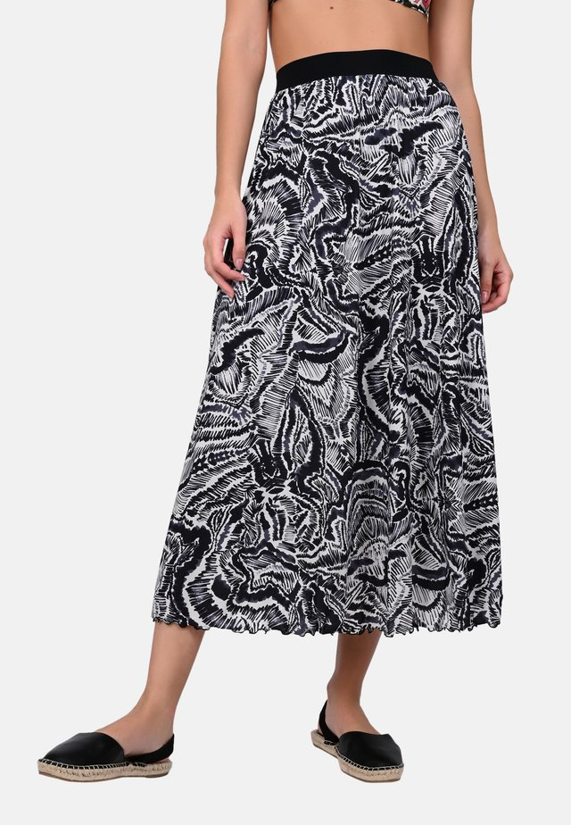 AINOA - A-line skirt - black