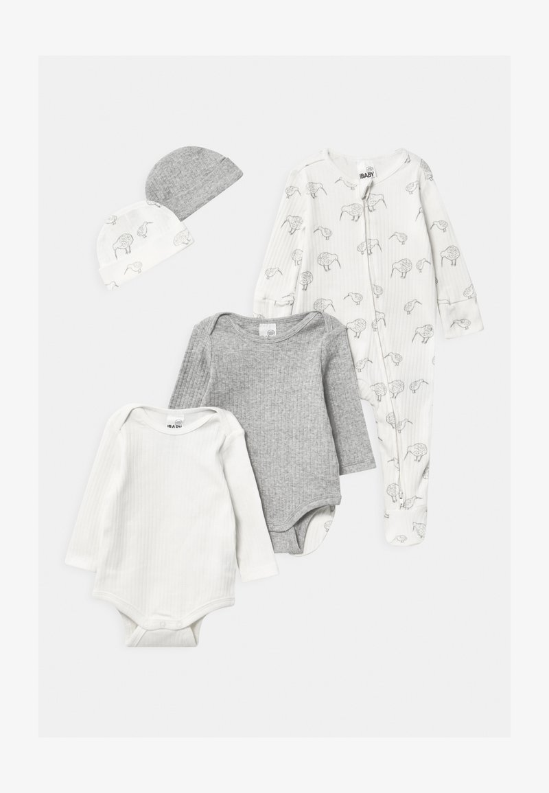Cotton On - BUNDLE SET UNISEX - Beanie - milk