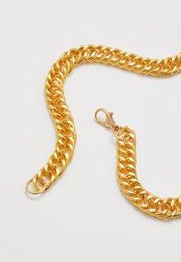Urban Classics - BIG CROSS NECKLACE - Collana - gold-coloured - 2