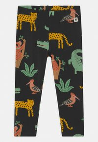 Lindex - LEO AND ANIMALS 2 PACK - Leggings - Trousers - off black - 2