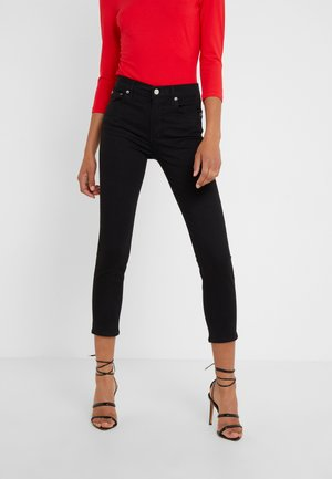 SOPHIE CROP  - Trousers - jet