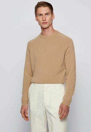 DAVIDO - Jumper - open beige