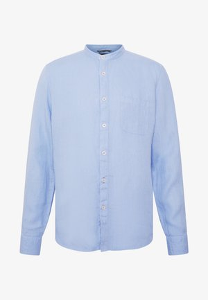 BAND COLLAR,LONG SLEEVE,ONE POCKET,PLAKET WITH INSERTED TAPE,INS - Camisa - serenity