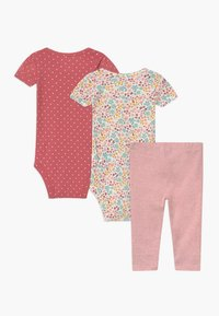 Carter's - MOUSE 2 PACK SET - Leggings - Trousers - light pink - 1