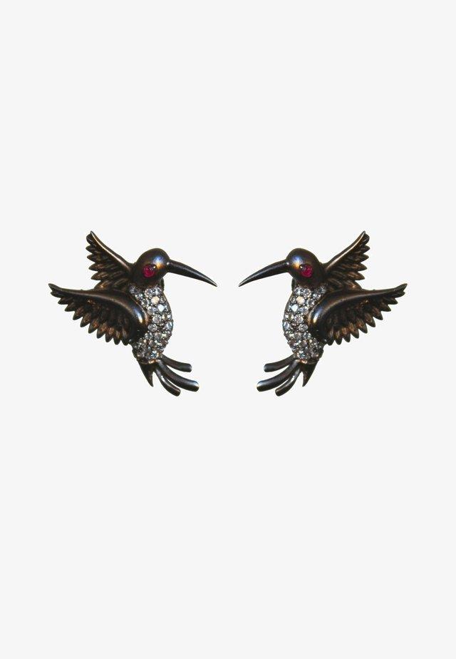 AMAZONIAN HUMMINGBIRD - Oorbellen - black
