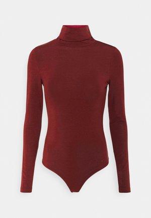 VMAVA LULU ROLLNECK BODY - Long sleeved top - cabernet