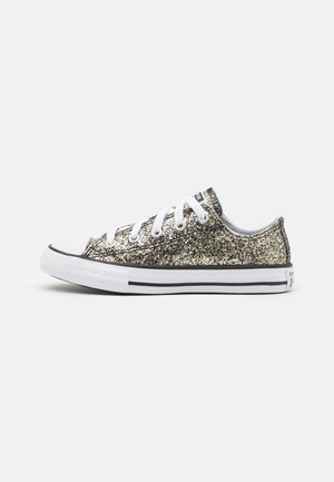 CHUCK TAYLOR ALL STAR COATED GLITTER UNISEX - Baskets basses - black/silver/bronze