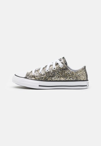 CHUCK TAYLOR ALL STAR COATED GLITTER UNISEX - Trainers - black/silver/bronze