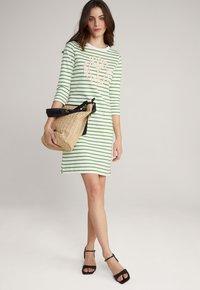 JOOP! - Jersey dress - grün weiß gestreift - 1