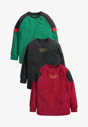 3 PACK - Bluzka z długim rękawem - red green