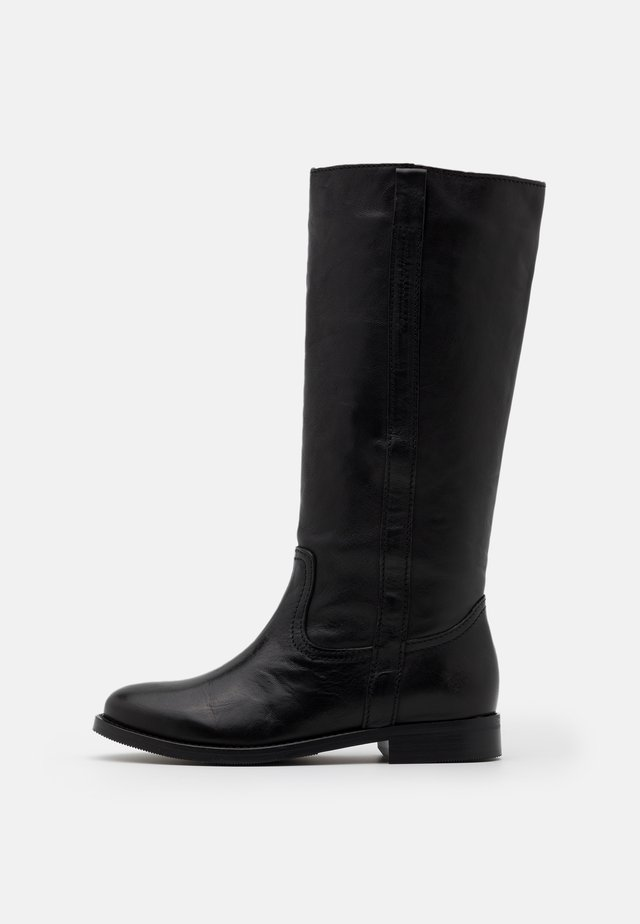 KAREN - Vysoká obuv - black