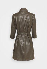 Patrizia Pepe - ABITO DRESS  - Shirt dress - mangrove green - 1