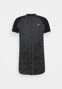 SIKSILK - RAGLAN INSET - Shirt - black/white - 3