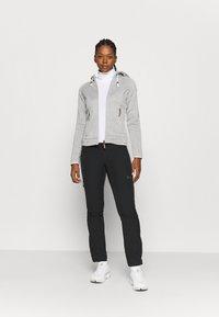 Icepeak - AUBURN - Fleece jacket - grey - 1