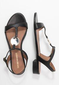 Emporio Armani - Sandals - black - 1