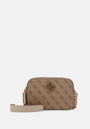 NOELLE CROSSBODY CAMERA - Bandolera - latte