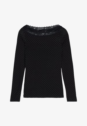 Long sleeved top - nero st.puntaspillo