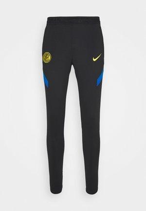 INTER MAILAND DRY PANT - Klubové oblečení - black/blue spark/tour yellow