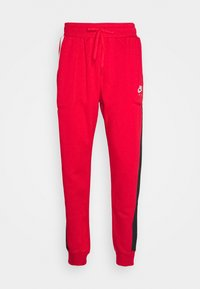 Nike Sportswear - AIR - Tracksuit bottoms - university red/black/white - 5