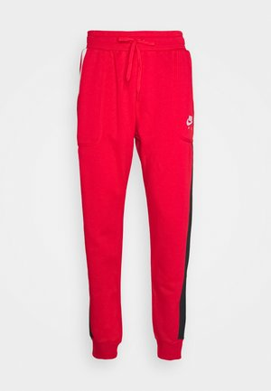 AIR - Tracksuit bottoms - university red/black/white