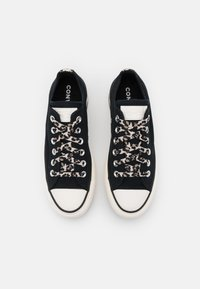 Converse - CHUCK TAYLOR ALL STAR ARCHIVE PLATFORM - Zapatillas - black/light fawn/egret - 5